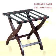 hotel luggage rack. Folding Luggage Rack Contemporary Hotel Solid Wood Racks