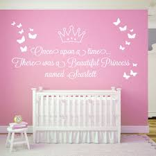 Beautiful Princess Quotes Best Of Wall Designer Once Upon A Time There Was A Beautiful Princess