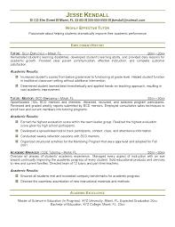 Tutor Resume Examples Tutor Resume Sample Savebtsaco 5