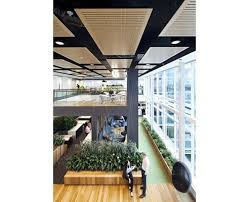 open office ceiling decoration idea. Suspended Acoustic Ceiling Panels. Open OfficeOffice SpacesOffice WorkspaceOffice DesignsOffice Office Decoration Idea