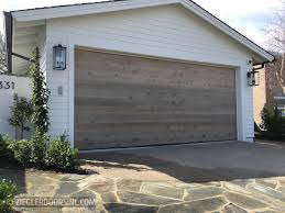 Reclaimed Wood Modern Garage Doors | Ziegler Doors, Inc.