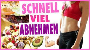 Schnell abnehmen und gesunde Diät