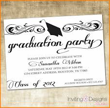 Free Party Invitation Template Word Free Graduation Party Invitation Templates For Word Within Free 6