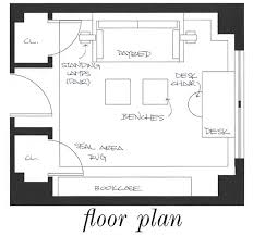 office room plan. Guest Office Room Plan P