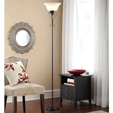 torch floor lamp mainstays lamps home depot replacement glass shade with remote globe electric in black