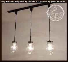 Image Kitchen Load Image Into Gallery Viewer Mason Jar Track Lighting Pendant Trio New Quart The The Lamp Goods Mason Jar Track Lighting Pendant Trio New Quart The Lamp Goods