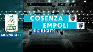 Cosenza v Empoli - Highlights - Calcio 24 TV