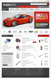 auto parts website template auto parts opencart themes free premium templates creative