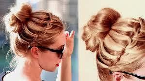 Attache Cheveux Mariage Coiffure De Mi Long Boucle Chignon