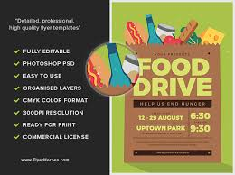 Food Drive Flyers Templates Food Drive Flyer Magdalene Project Org