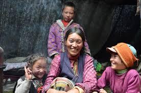 Foreign woman to enter tibet