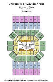 Dayton Arena Seating Chart Ncaa University Of Dayton Arena Seating Chart