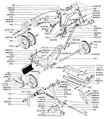 Bunton bobcat ryan 6032k pro model edger parts diagrams