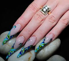 Stiletto nail art designs - how you can do it at home. Pictures ...