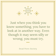 Dead Poets Society Quote 40 QuoteReel Unique Quote For The Dead