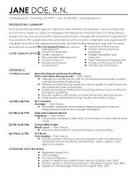Nurse Educator Resume Examples