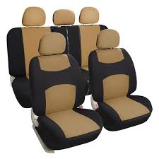 leader accessories universal front rear car seat covers