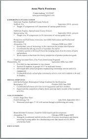 Sample Middle School Teacher Resume Free Teacher Resume Templates ...