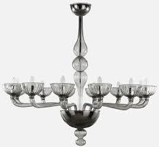 blown glass chandelier edgar blown glass chandelier by multiforme