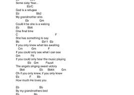 Song Key Chart Write A Chord Chart For Any Song In Any Key By Archy1990