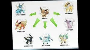The Pokemon Evolution Chart Youtube