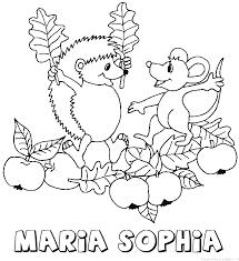 Maria Sophia Naam Kleurplaten