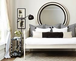 Image result for using black accents in a white room
