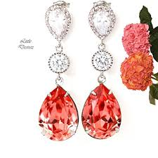 black chandelier earrings large dangle earrings big bridal earrings bridal jewelry long earrings wedding jewelry jewelry design bohemian jewelry