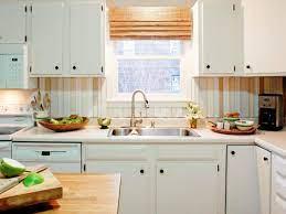 DIY Kitchen Backsplash Ideas + HGTV ...