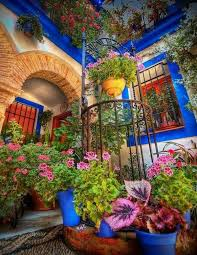 Small Picture colorful garden design in the Spanish style Garden Design