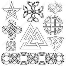 Celtic Rope Designs Set Of Editable Vector Celtic Knot Designs