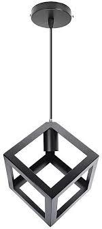 generic e27 industrial vintage chandelier ceiling light pendant kitchen bar fixture lamp square