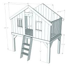 free standing tree house plans free standing tree house kit backyard clubhouse kits home decor plans free standing tree house plans