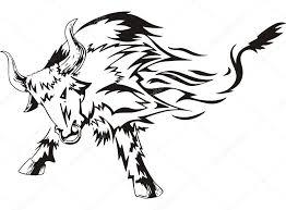 Býk Tetování Stock Vektor Rorius 31783527