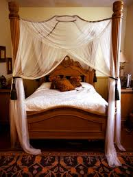 Diy Bed Canopy Diy Curtain Rod Bed Canopy Magielinfo