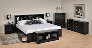 king platform storage bed. Sonoma Platform Storage Bedroom Set King/6 Piece/Black King Bed O