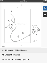 light kit wiring harness am144277 john deere gator forums click image for larger version image png views 3253 size 379 2
