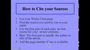 how to write mla citation how to write mla in text citations youtube