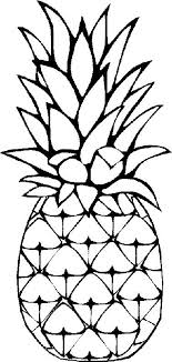 Small Picture Pineapple coloring page 2 Coloring Pages