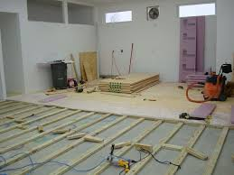 plywood floor ... do it this way ... guy has a great point re NOT ...