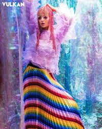 Trelise Cooper - Rainbow dreaming by @vulkanmag COOPER | TAKE A PLEAT SKIRT  Available for pre order now  https://www.trelisecooperonline.com/estore/style/co3541-12sp21.aspx?c=467  Photography Bill Chen @billchenphoto Model Ashley Jobe-parker ...