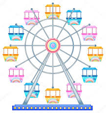 Image result for ferris wheel clipart