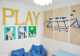 diy playroom wall art