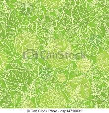 green texture repeating background. Green Leaves Lineart Texture Seamless Pattern Background To Repeating