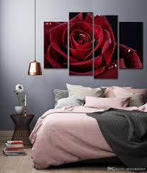 online cheap wall decor canvas painting canvas art red rose digital picture home pieces modular picture for bedroom dropship by utocommerce dhgate com on red rose canvas wall art with online cheap wall decor canvas painting canvas art red rose digital