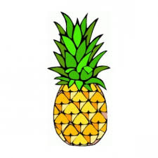 pineapple clipart black and white. pineapple black and white clipart