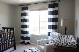Striped Bedroom Curtains Benjamin Moore Gray Owl Nursery