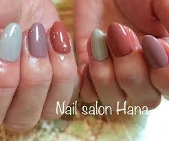 秋冬カラーネイル Nail Salon Hana