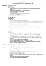 Fitter Resume Samples Velvet Jobs