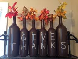 Thanksgiving Wine Bottle Decorations My Thanksgiving wine bottle decorations or do in chalk board 2